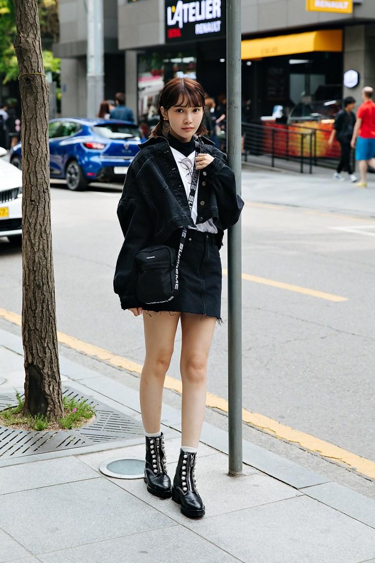 Luna, Street style women spring 2018 in seoul
