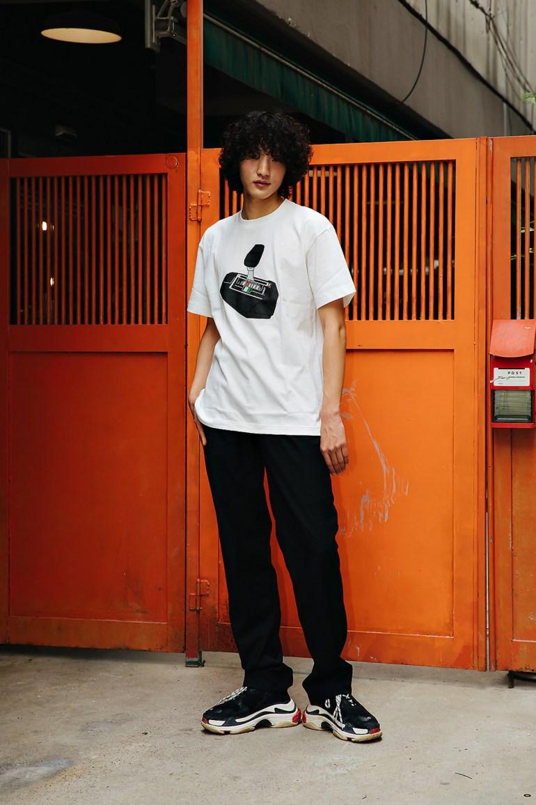 Oh Jaehyun, Street style men spring 2018 inseoul