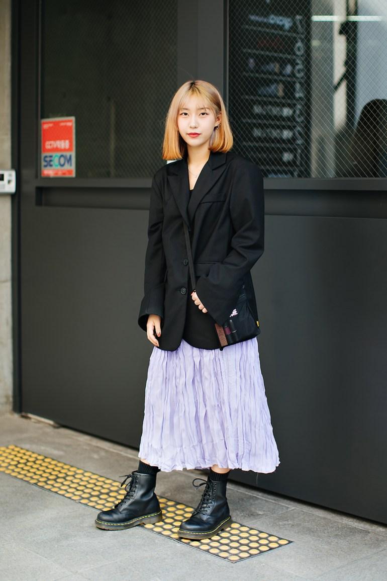 Seo Hyeyeon, Street style women spring 2018 in seoul