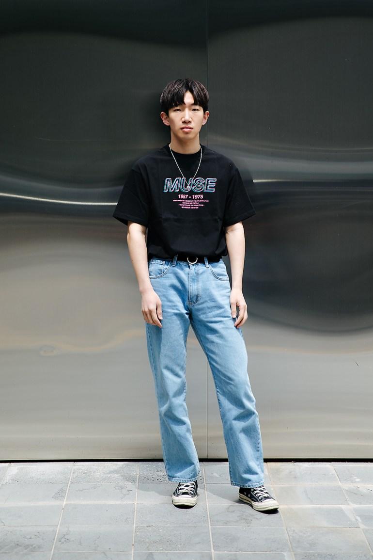 Song Minwoo, Street style men spring 2018 inseoul