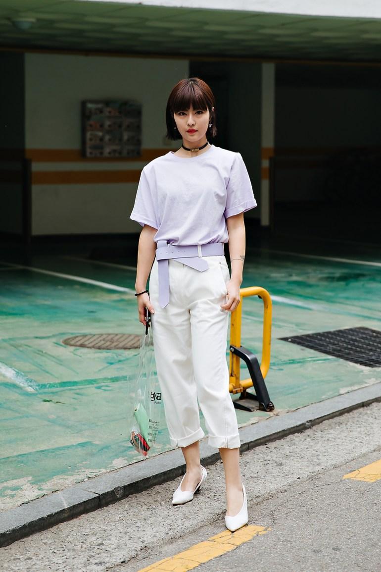 Sugarqian, Street style women spring 2018 in seoul
