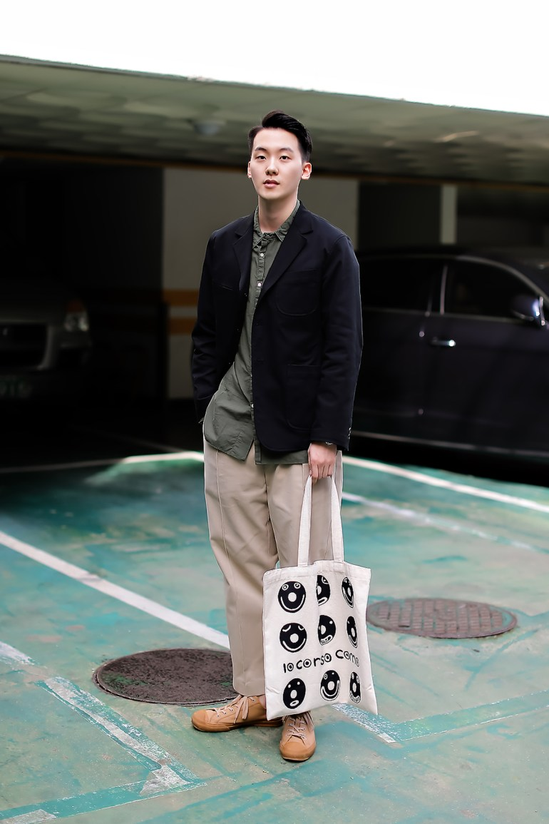 Men fall street style fourth week of october 2018 in seoul12