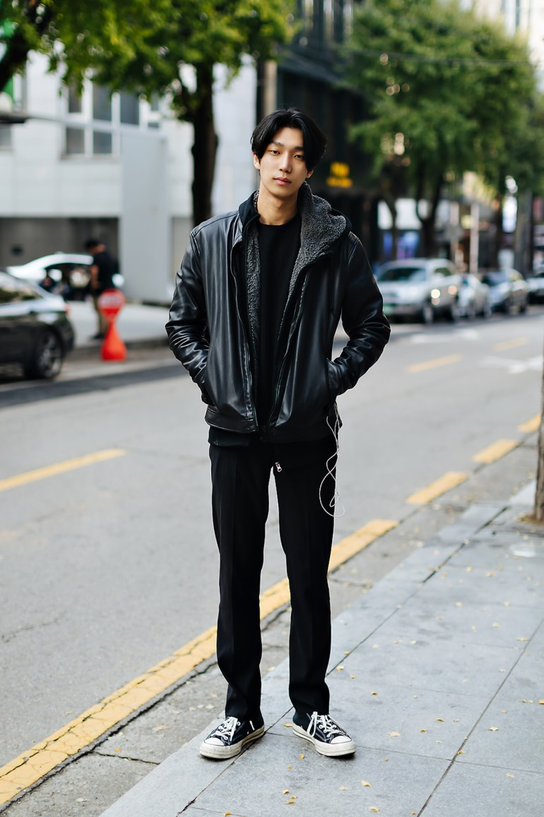 Men fall street style fourth week of october 2018 in seoul9