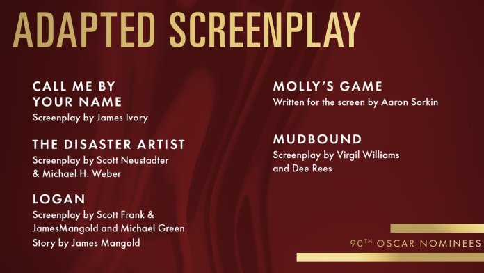 Best Adapted Screenplay Noms