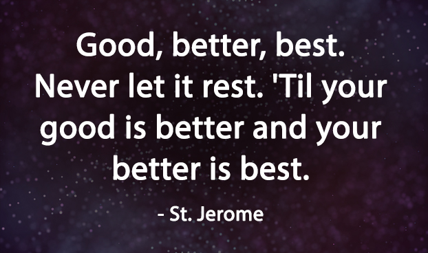 Motivational quotes by St. Jerome