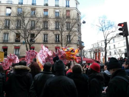 Souvenirs du défilé du Nouvel an (Paris 13) (2/6)