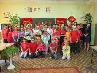 Chiński dzień w ZS w Pawłosiowie