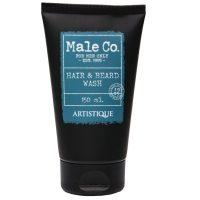 Male Co. Hair & Beard Wash 150 ml - Sampon pentru par si barba