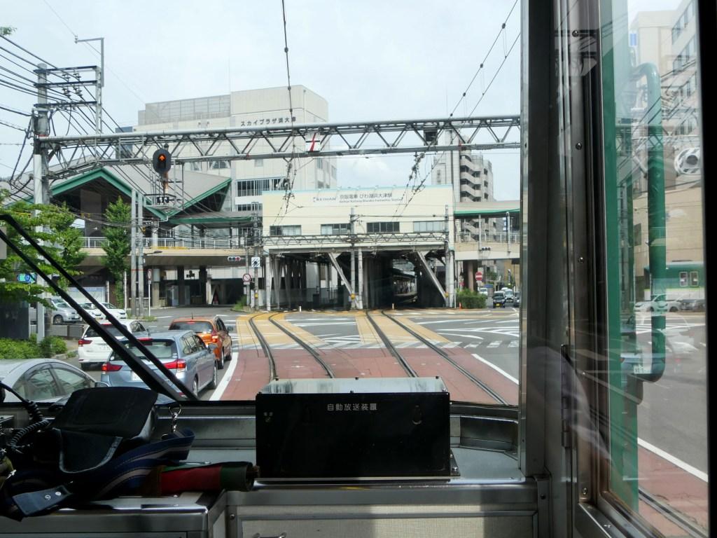 浜大津駅前