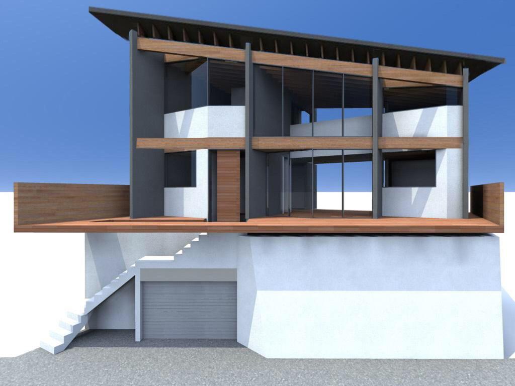混構造の家