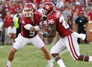 Trevor Knight and Damien Williams.  Photo from cnn.com