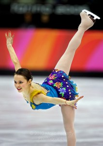 USA's 2008 Olympic silver medalist, Sasha Cohen Photo used under Creative Commons License