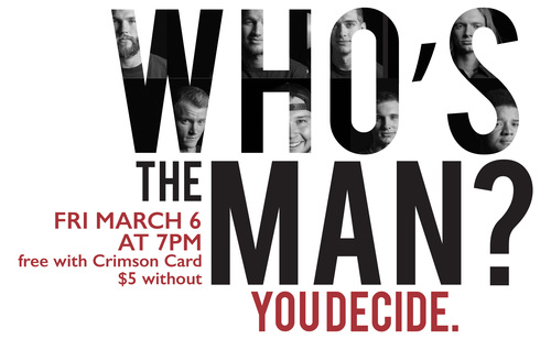 Who will you vote as THE MAN?
