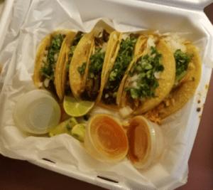 Taqueria El Rincon tacos