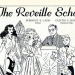 An old Reveille Echo poster