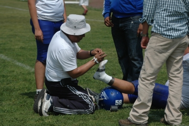 Behind the Scenes of an Athletic Trainer