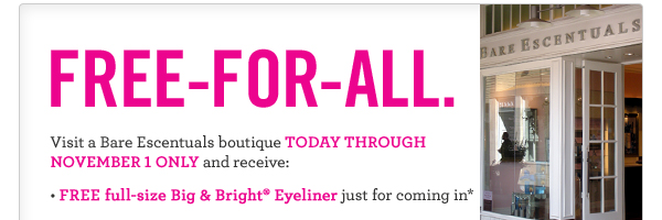 FREE Big & Bright Eyeliner and more
