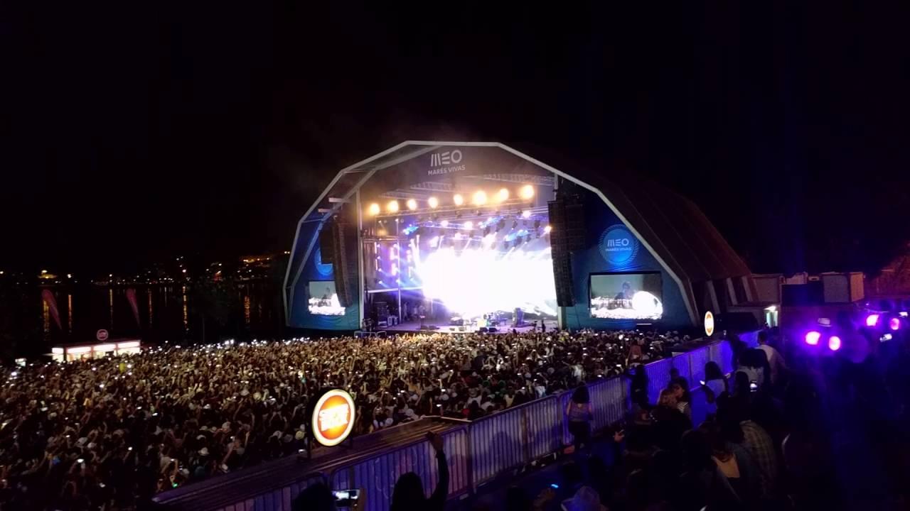 Scorpions regressam a Portugal e deixam festivaleiros do Marés Vivas ao rubro