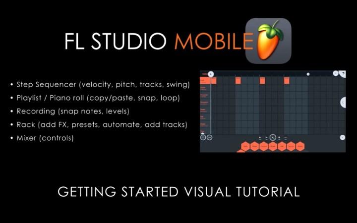 FL Studio Mobile 3   In App Visual Tutorial