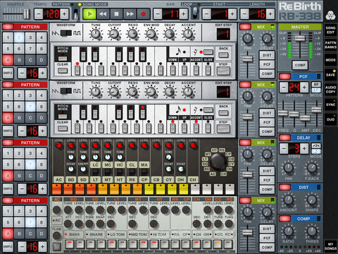 Propellerhead - Rebirth for iPad