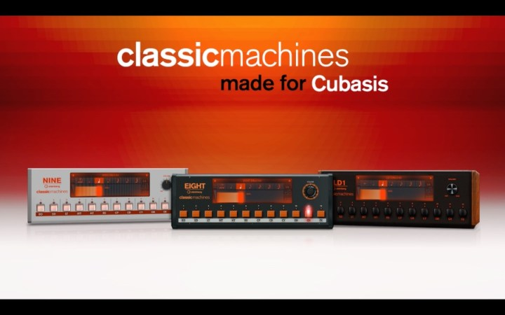 Classic Machines for Cubasis | Promo Video