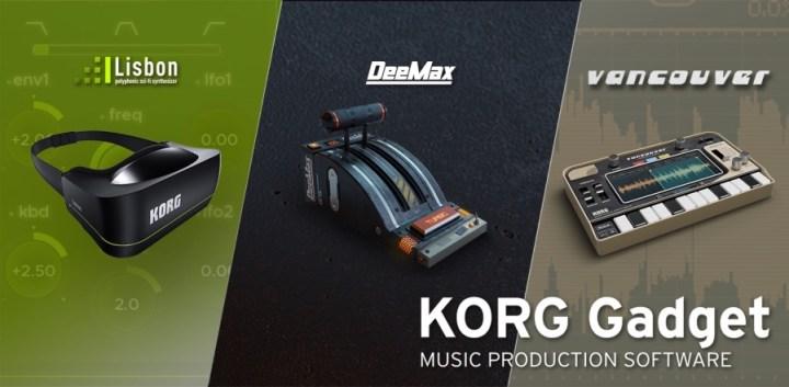 KORG Gadget Mac 1.5 iOS 3.5