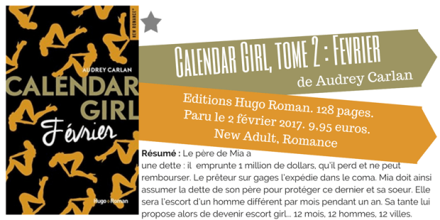 Calendar Girl Tome 02 Fevrier Audrey Carlan L Echo