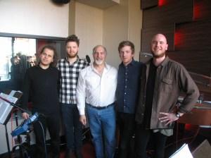 Olafur Arnalds band & John Diliberto