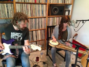 Arborea - Buck & Shanti Curran in Echoes Living Room
