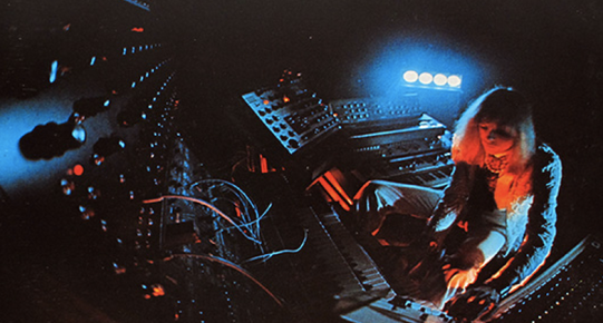 Klaus Schulze Synthesizers