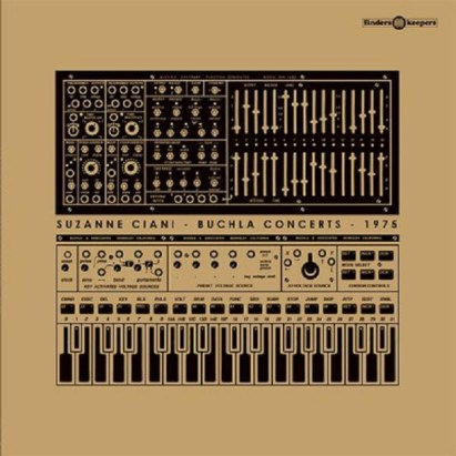Cover of Suzanne Ciani - Buchla Concert 1975 album.
