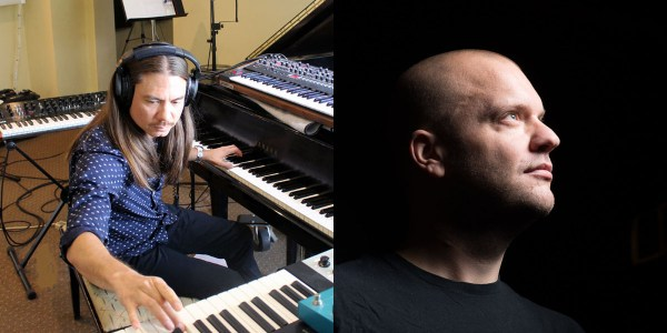 Naneum at keyboards/Gunnar Spardel Headshot