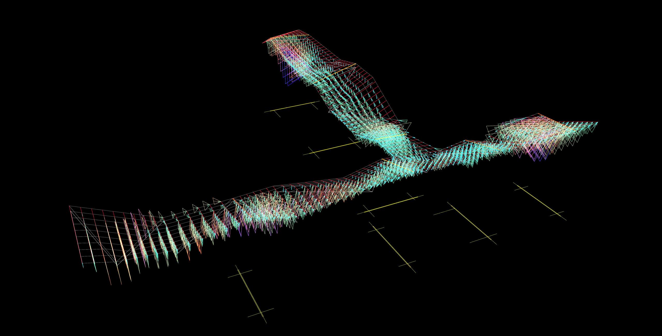 Angular Data of the Blades