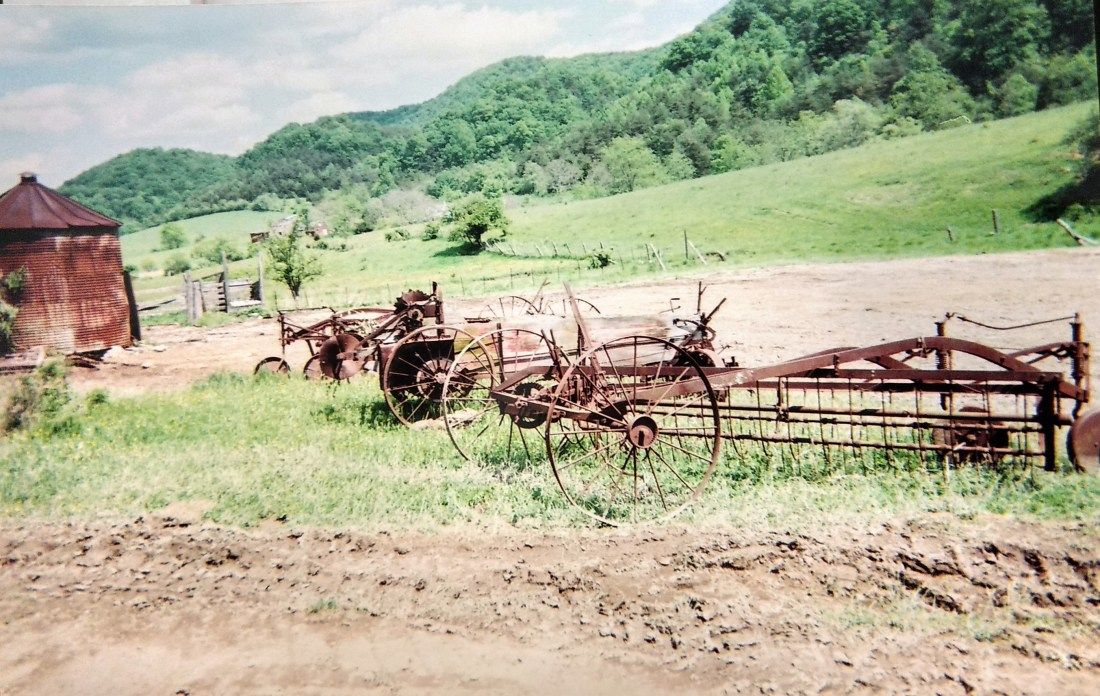 Farm Equipment on the Andrews Farm