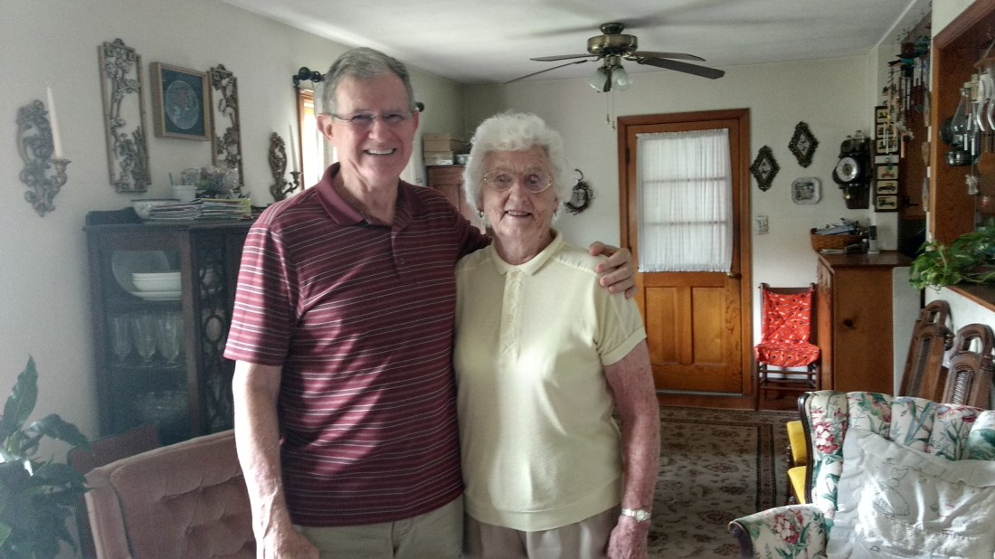 Ted Carroll and Christine Shepherd
