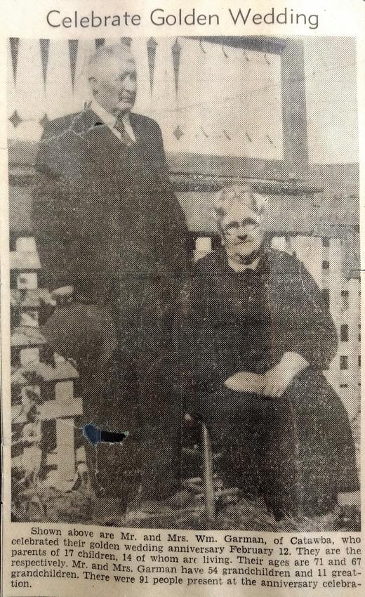 William and Luemma Golden Anniversary