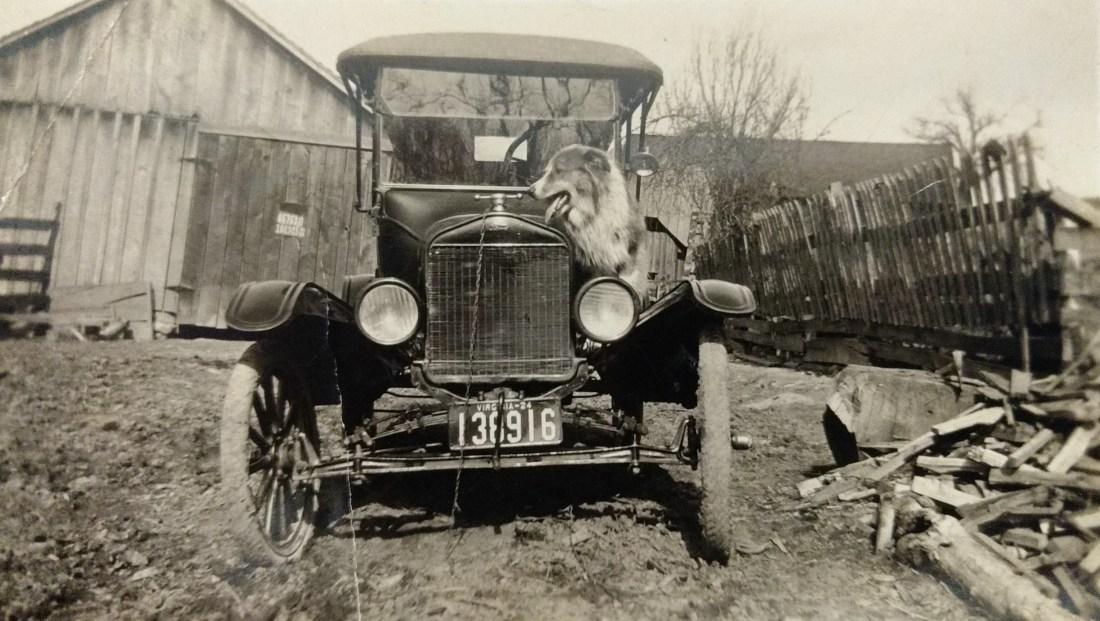 Claude's father, John's Model T