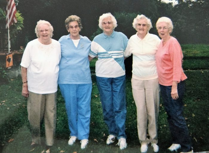 Rachel, Betty, Claudine, Christine, Helen