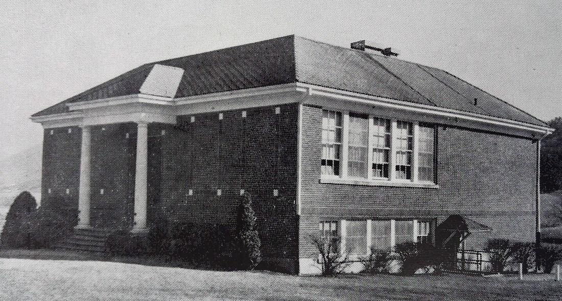 Catawba School built 1928