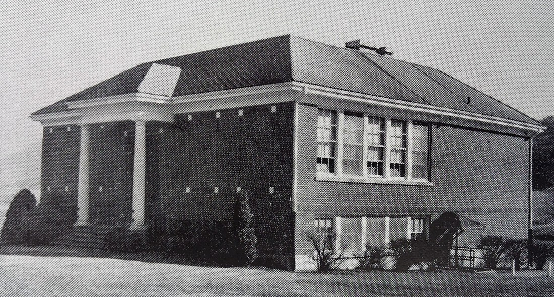 Catawba School built 1928