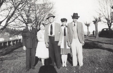 "Charles ""Stewart"" (son of George S.), Essie (daughter of William), George W. (son of George S.), Margaret (daughter of George S.), George S. (son of William)"