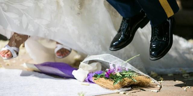 Appalachian Weddings Jumping The Broom And Shivaree Echoes From Catawba