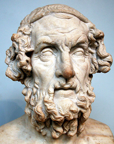 The Greek poet, Homer.