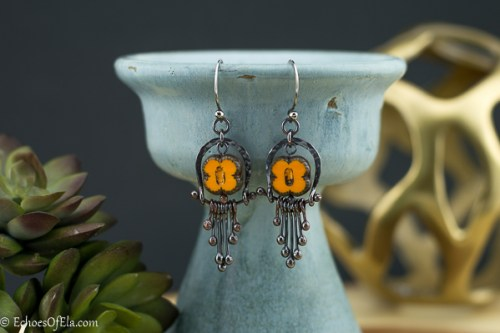 copper-earrings-yellow-flower-fringe1