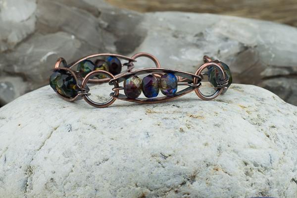copper-mixedpurple-czech-glass-bracelet6