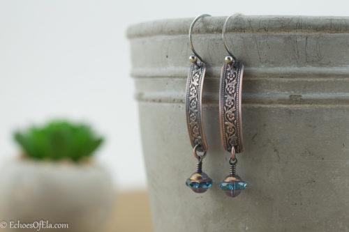 copper-floralwire-blue-saturn-earrings1