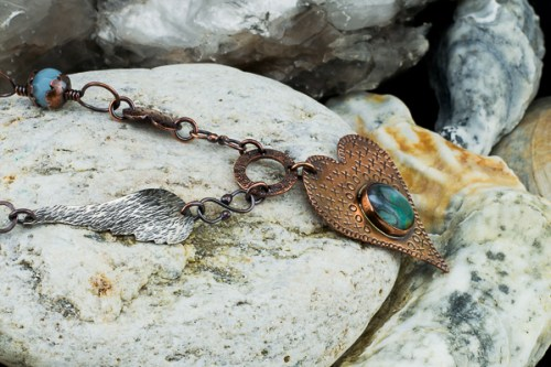 copper-mixedpurple-czech-glass-bracelet1
