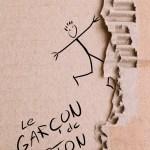 Couverture du Garcon de carton, nouvelle