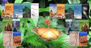 Papillon avec plein de couvertures