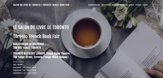 Echofictions sera présent lors du Salon du livre de Toronto